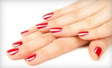 One or Four Gel-Polish Manicures, Five Spa Pedicures, or a Cranberry-Spice Pedicure at Nails by Leigh (Up to 64% Off)