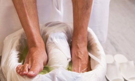 $29 for a Private Men's Pedicure at Taylor & Colt ($60 Value)