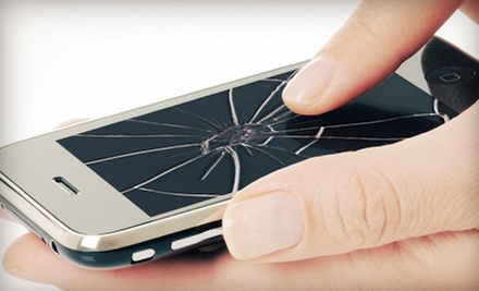 Glass Repair for iPhone, HTC Evo, or iPad at Wireless Repair Solutions (Up to 59% Off). Four Options Available.