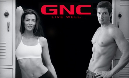 $19 for $40 Worth of Vitamins, Supplements, and Health Products at GNC. Choose from Two Locations.