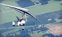 $145 for a 30-Minute Introductory Powered-Hang-Glider Flight at Silver Lining Aviation ($366 Value)