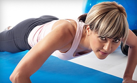 5 or 10 Fitness Classes at New U Fitness LLC (Up to 54% Off)