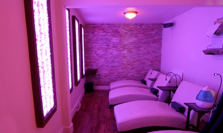 One, Three, or Five 45-Minute Sessions in a Salt-Therapy Room at RockSalt Spa (Up to 49% Off)