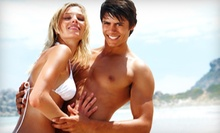 Unlimited Bed Tanning, Three Mystic Tans, or 360 Tanning-Points Package at Island Cove Tanning Ltd. (Up to 55% Off)