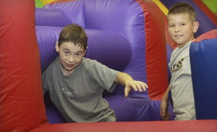 6 or 12 Indoor Bounce Sessions at Jump On In (54% Off)
