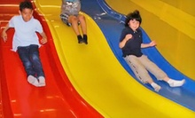 Three or Five Drop-In Indoor Playground Visits to The Fun Side (Up to 54% Off)