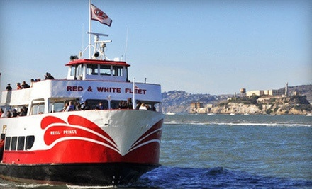 $58 for a Two Person California Sunset Cruise with Appetizers from Red and White Fleet (Up to $116 Value)