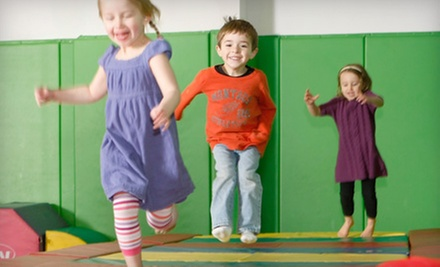Three or Eight Creative Kids' Classes and Play Visits at Kidville (Up 75% Off)