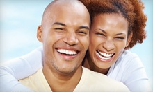 One or Two Laser Teeth-Whitening Sessions at Whitening Bright Studio (Up to 72% Off)