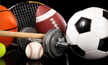 $20 for $40 Worth of New and Used Sports Equipment and Clothing at Sports Plus