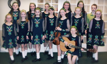 5 or 10 Group Irish-Dance Lessons at Cannon Irish Dance (Up to 58% Off)
