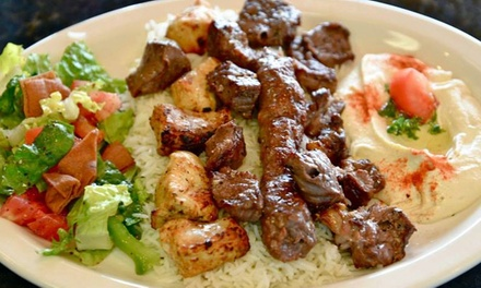 $11 for $20 Worth of Mediterranean Cuisine at Pita Puff