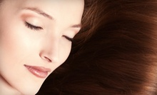 Haircut, Blow-Dry, and Style with Option for Full Highlights, or Keratin Treatment at Adora Bella Salon (Up to 55% Off)