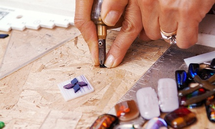 Glass Jewellery-Making Workshop for One, Two, or Four at Glass Mosaic Canada (Up to 53% Off)