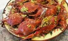 Snow-, King-, and Blue-Crab Dinner with Sides for Two or Four at Little New Orleans Kitchen & Oyster Bar (Up to 51% Off)