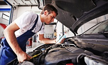 Oil Change, Seasonal Inspection, or Brake Pads at Darrell's Firestone + Franklin Auto Service Center (Up to 65% Off)