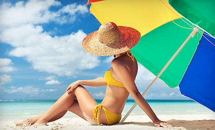 Annual Beach Pass with Chairs and Umbrella Rental and Optional Boat Rental from Alfredo's Beach Shack (Up to 71% Off)