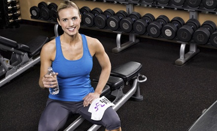 Three-Month Gym Membership with Personal Training or 5 or 10 Fitness Classes at Anytime Fitness (Up to 83% Off)