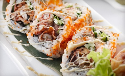 $20 for $40 Worth of Sushi and Japanese Cuisine at Shogun Sushi