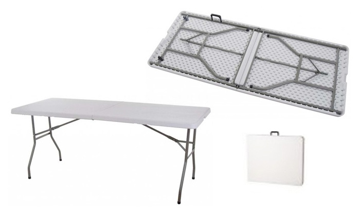 Groupon Goods: Folding Table for R599.99 Including Delivery (33% Off)