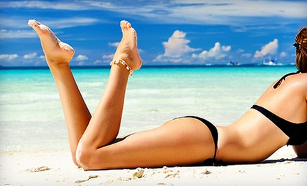 One, Three, or Six Spray Tans at Boardwalk Sunsations Tanning (Up to 66% Off)