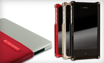 Cases, Screen Protectors, and Sleeves for iPhone, iPods, iPad, and MacBook Air from Crimson (Half Off)