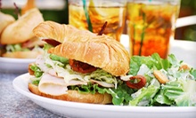 Sandwiches and Salads for Two or Four at Something's Brewing Cafe (Up to 55% Off)