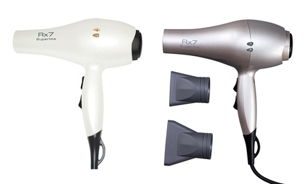 Rx7 Superlite Ceramic Nano Ionic Hair Dryer