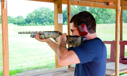 $75 for Two Three-Day Trial Memberships Including Pistol Rentals at Patriot Outdoors ($190 Value)