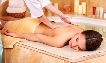60-Minute Custom Massage or Facial with Collagen Mask at Lavender Medical & Beauty Spa (63% Off)