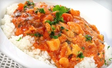 $20 for $40 Worth of Indian Food at Cafe India 