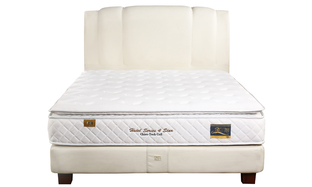 Up to 40 off king koil chiro tech coil series 4 star for Beds 80 off