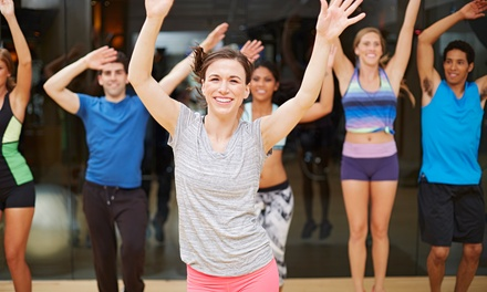 One or Three Months of Membership and Unlimited Fitness Classes at The Fitness Hub (Up to 62% Off)
