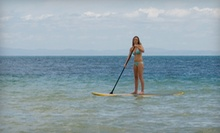 $17 for a One-Hour Paddleboard Rental from Saltwater Kite & Paddle ($35 Value)