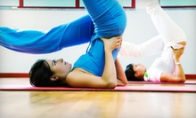 10 or 20 Classes at The Yoga Mat (Up to 70% Off)