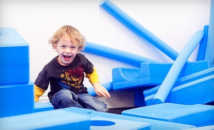 Three or Six Kids' Open-Play Visits at play. (Up to 58% Off)