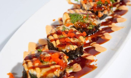 Sushi, Thai, and Chinese Food at Green Ginger (Up to 43% Off). Two Options Available.