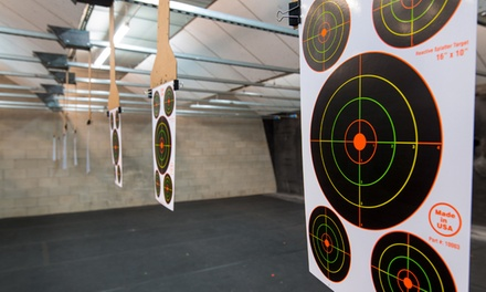 [Introduction to Shooting Handguns and Rifles Experience for One or Four at Mass Firearms School (Up to 54% Off)   Image]