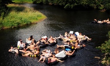 Day of Tubing for Two MondayThursday or FridaySunday with Optional Camping at Float Rite Park (Up to 54% Off)