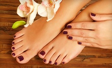 One or Two Manicures and Spa Pedicures at Alta Moda Salon (52% Off)