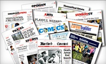 "One-Year Thursday–Sunday or Sunday-Only Subscription to the ""Hartford Courant"" (Up to 90% Off)"