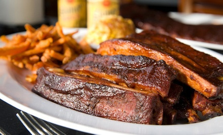 Dine-In or Carryout Barbecue for Lunch or Dinner at DJ's Barbecue (Up to 52% Off)