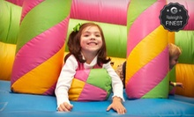 $6 for Play Time, a Pizza Slice and a Small Drink at Monkey Joes (Up to $13.18 Value)