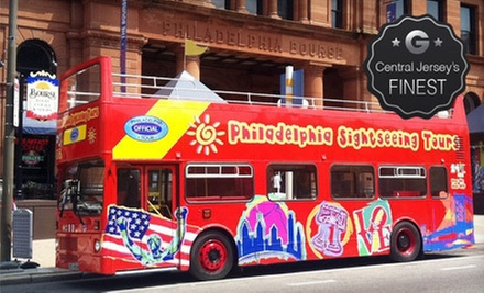 Historical Hop-On Hop-Off Tour for One, Two, or Four from Philadelphia Sightseeing Tours (Up to 56% Off)