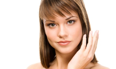 Haircut Package with Optional Partial or Full Highlights at Salon 77 (Up to 51% Off)