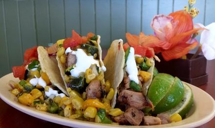 Hawaiian-Style Burritos, Rice Bowls, Tacos, and Salads at Braddah's Island Style (Up to 42% Off)