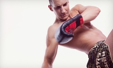 Six-Week Body-Sculpting Boot Camp or Six-Week Self-Defense Course at Recinos Muay Thai Academy (Up to 77% Off)