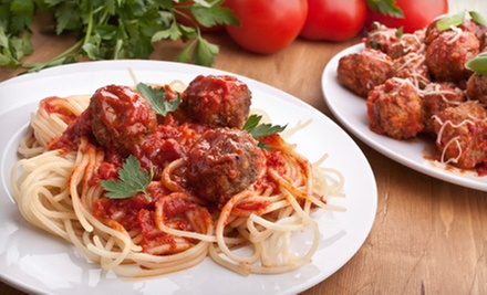 Two or Four Pasta Entrees or Signature Italian Dishes at Kinsey's Italian Cafe (Up to 53% Off)