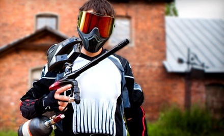 Paintball Package with Gear and 100 Paintballs Per Person for One, Two, or Four (Up to 53% Off)