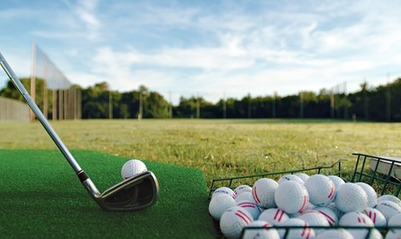 $12 for Three Medium Bucket of Range Balls at Maxwell Municipal Golf Course ($24 Value)